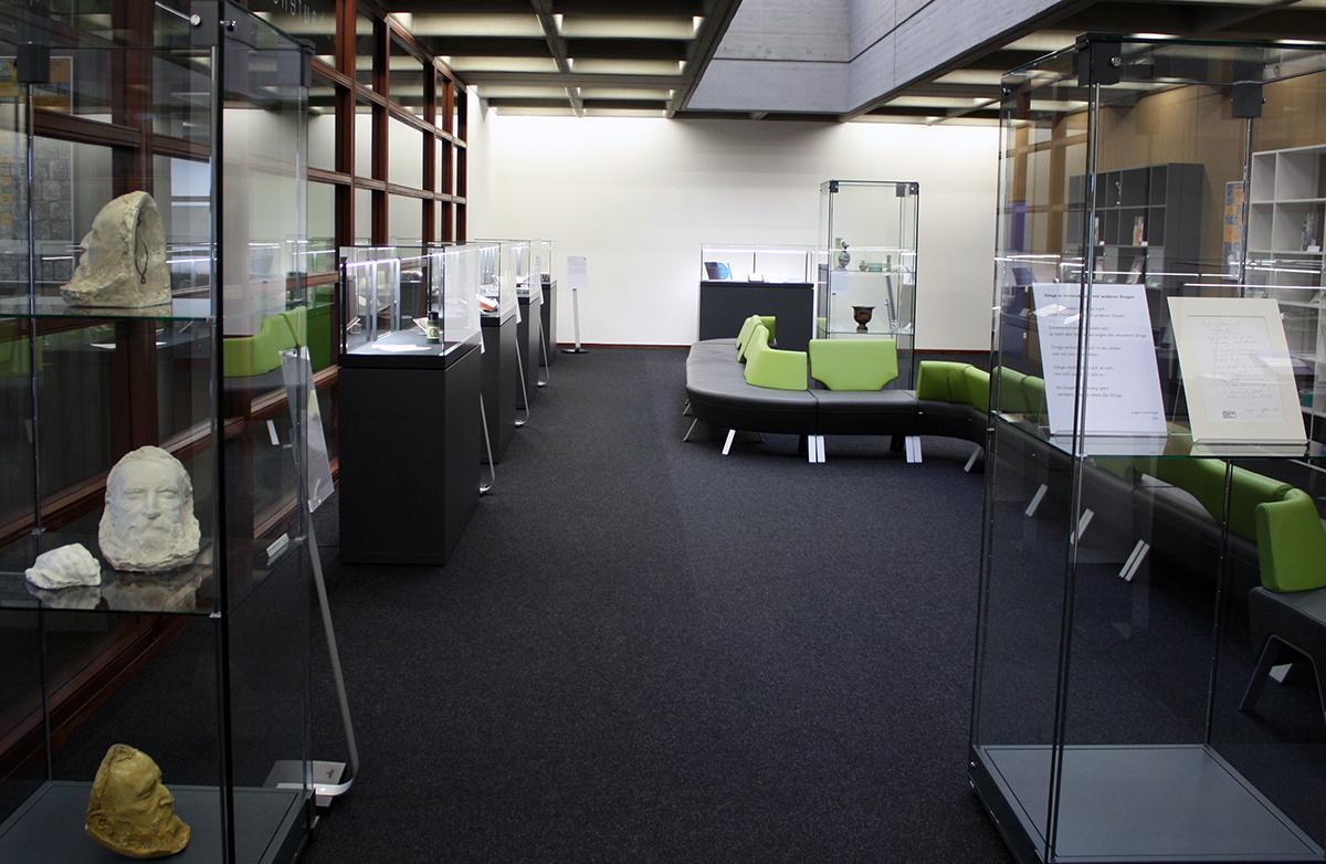 Ausstellungsraum der Universitätsbibliothek Regensburg