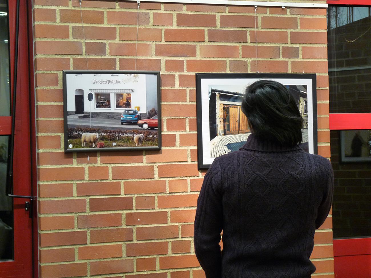 Ausstellung Zwei Dörfer in Deutschland