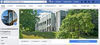 Facebook-Auftritt Universitätsbibliothek Augsburg