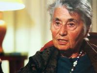 Screenshot aus dem Dokumentarfilm über Ruth Klüger von 2011