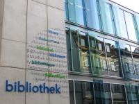 Fassade des zweiten Bauabschnitts der Teilbibliothek 4, UB Bamberg