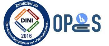Logo DINI-Organisation und Logo OPUS Würzburg