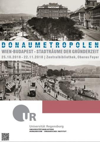Plakat Ausstellung Donaumetropolen