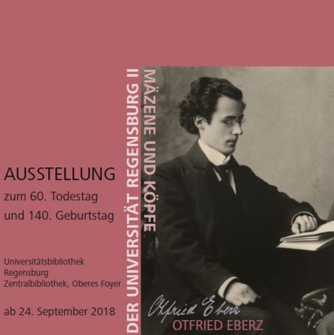 Ausstellungsplakat Otfried Eberz