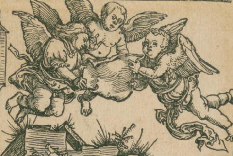 Ausschnitt aus: Albrecht Dürer: Marienleben