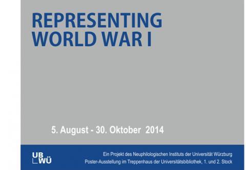 Flyer Ausstellung Der Erste Weltkrief