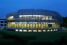 Universitätsbibliothek der TUM, Teilbibliothek Weihenstephan bei Nacht