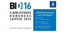 Bibliothekskongress Leipzig 2016