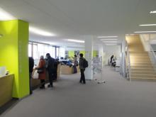Eingangsbereich der neu gestalteten Teilbibliothek 3, UB Bamberg