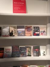Ein UBP-Buch im georgischen Pavillon auf der Frankfurter Buchmesse 2018
