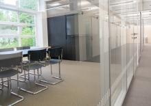 Gruppenarbeitsraum in der Teilbibliothek Medizin, Universitätsbibliothek der Technischen Universität München