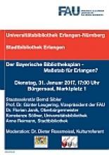 """Plakat zur Veranstaltung """"Bibliotheksplan"""""""