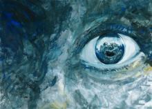 Augen, Grafik von Peter Eickmeyer