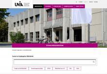 Neue Website der Universitätsbibliothek Augsburg