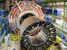 Der Atlas-Detektor am Large Hadron Collider LCH am CERN