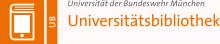 Logo Universitätsbibliothek der Universität der Bundeswehr München